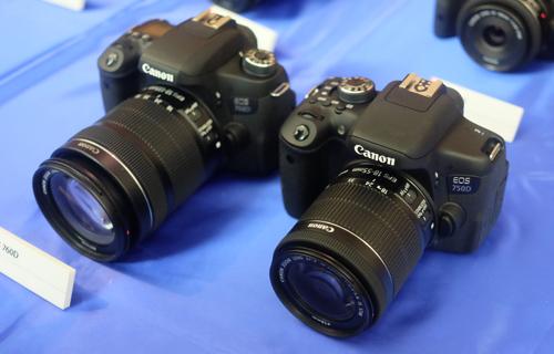 Canon eos 750d vs canon eos 760d