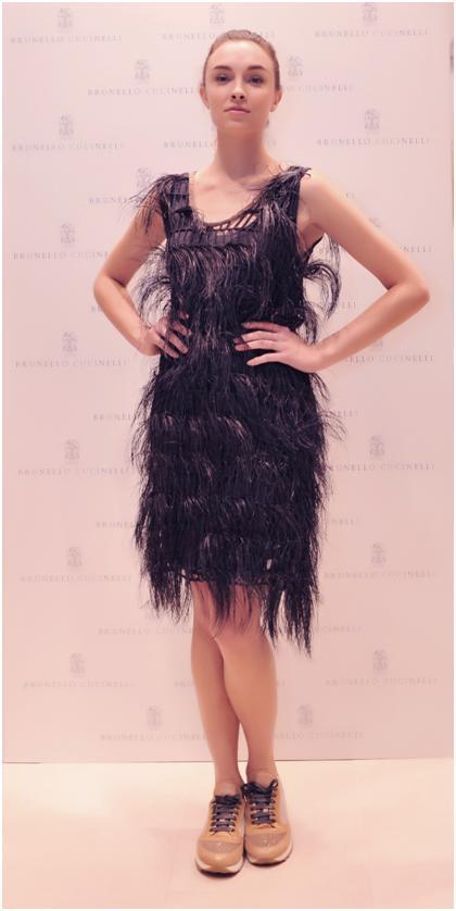 Hoa hậu kỳ duyên tham dự khai trương brunello cucinelli