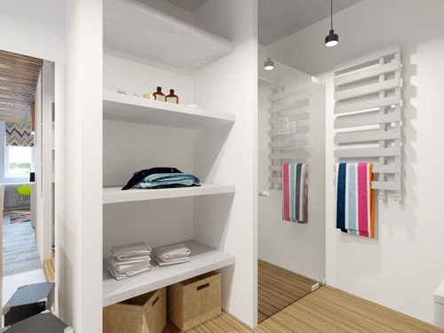 Làm cho căn hộ tươi vui với những chỗ chứa đồ thông minh