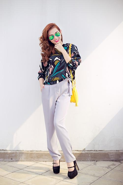 Phong cách thời trang thời thượng của quỳnh chi