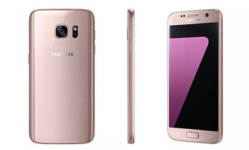 Galaxy s7 vàng hồng trông long lanh và tinh tế