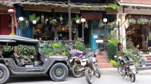 Khung cảnh nên thơ lãng mạn tại những quán cafe ở sapa
