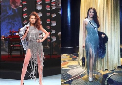 Làng showbiz việt vs với người mẫu quốc tế