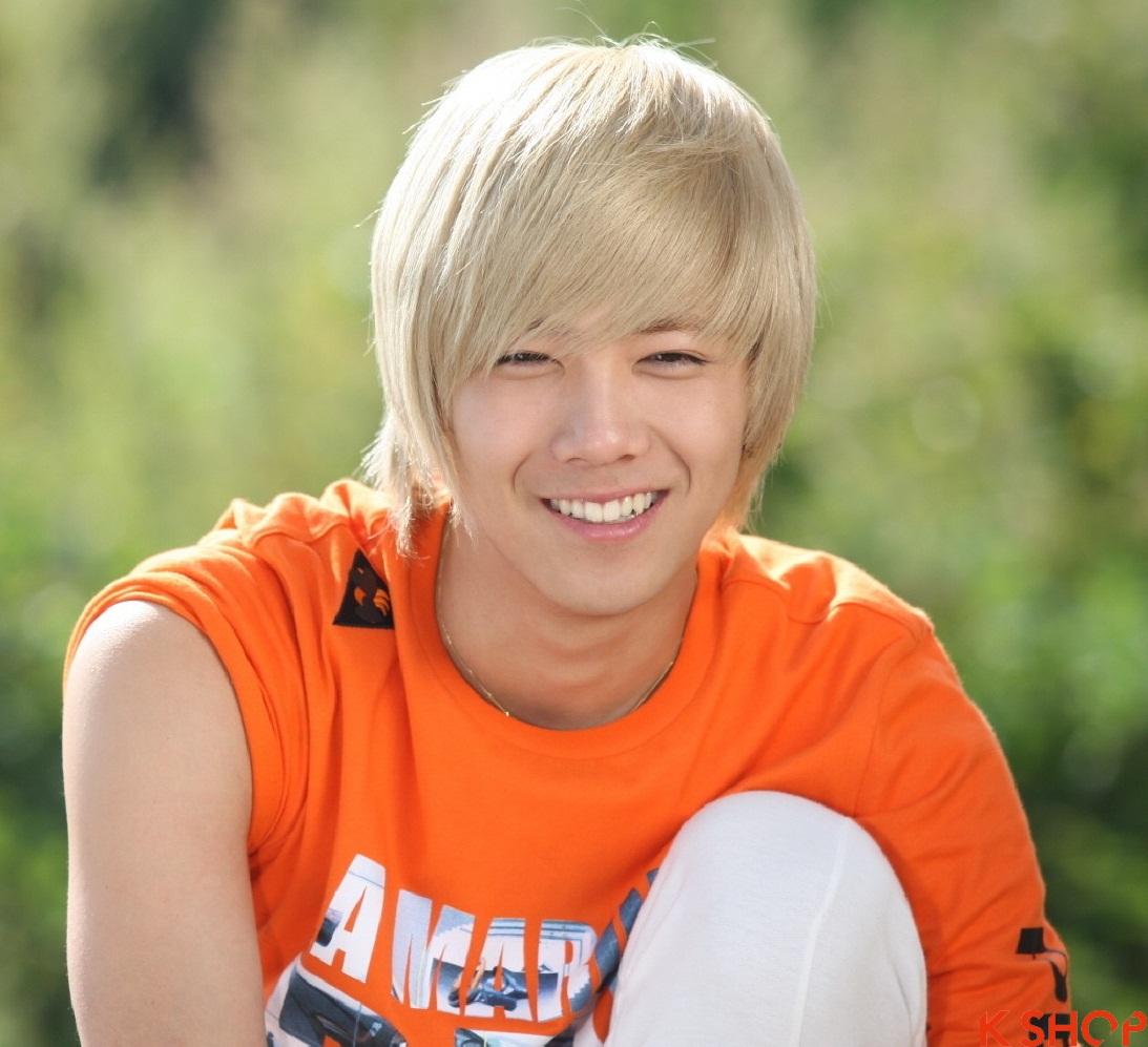 Những kiểu tóc nam sành điệu của sao kpop hàn quốc