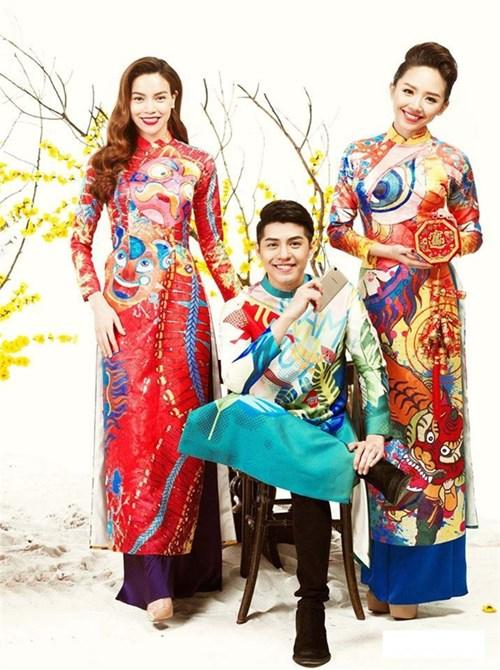 Những mẫu áo dài đẹp ngất ngây của mỹ nhân việt
