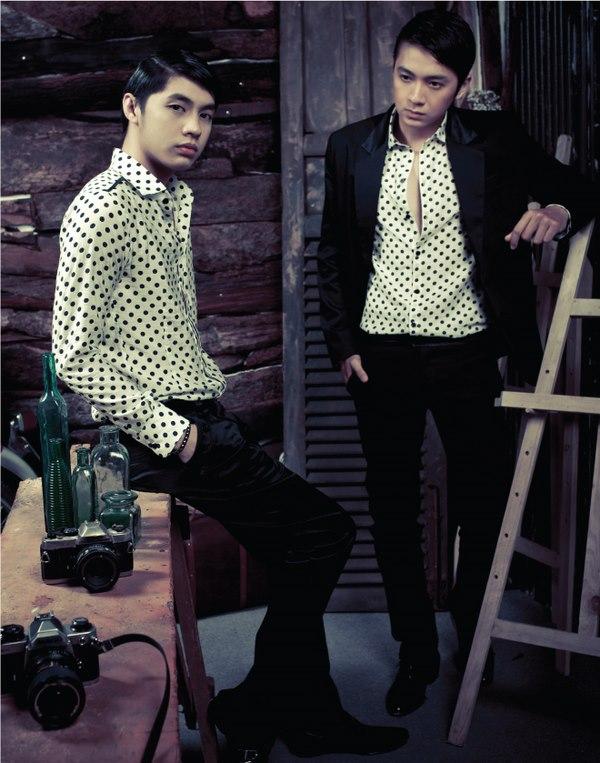 Phong cách retro với những mẫu áo sơ mi nam đẹp