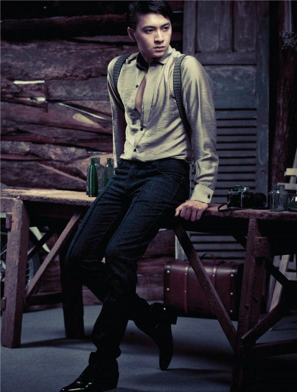 BST áo sơ mi nam đẹp cùng phong cách Retro