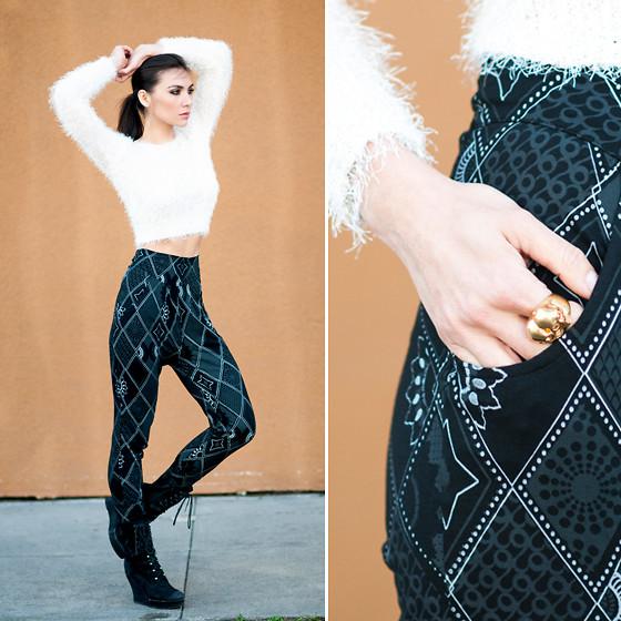 Quần baggy vải nữ đẹp trẻ trung cho nàng tung tăng dạo phố