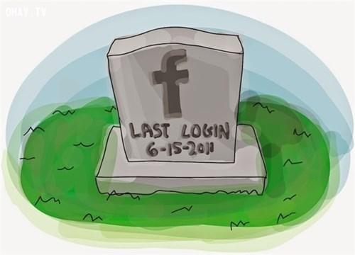 Tài khoản mạng xã hội một di sản để lưu niệm