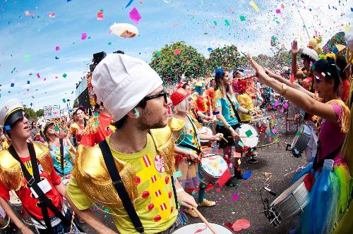Thiên đường bảo sơn diễn ra lễ hội đậm chất mỹ latinh
