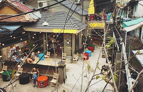 vietgangz brotherhood quán cà phê như một gara cực chất ở sài gòn