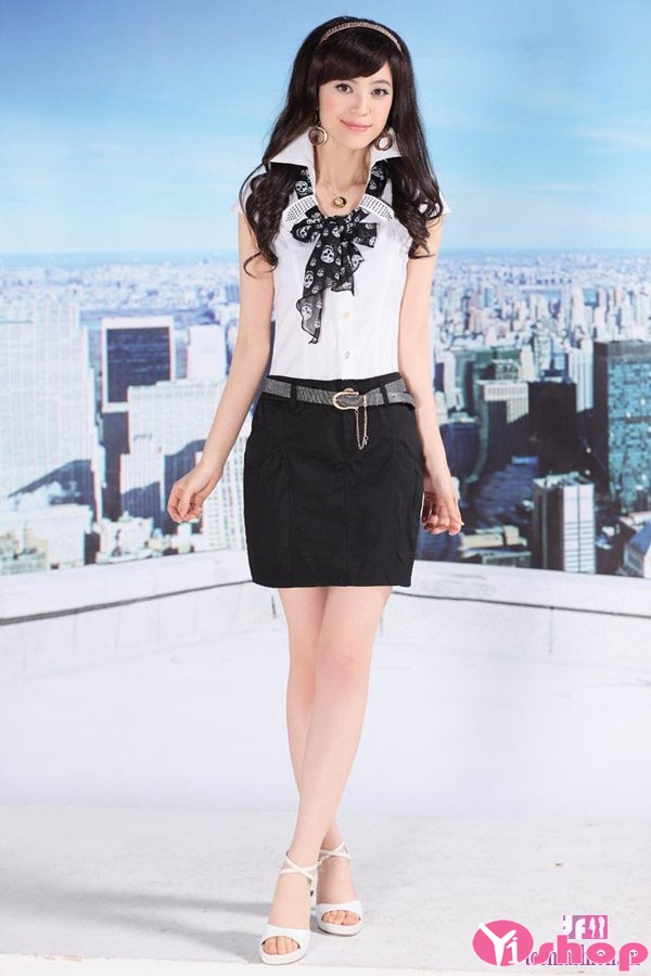 Xu hướng thời trang công sở với váy đầm liền thân dáng ngắn