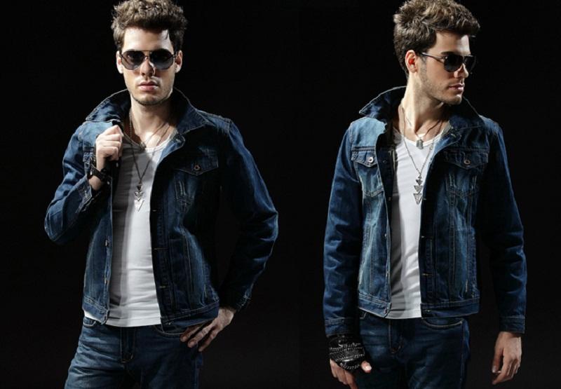 Áo khoác jean nam đẹp cho chàng cá tính sành điệu