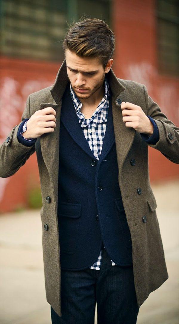 BST áo khoác măng tô nam công sở đẹp cá tính mạnh mẽ