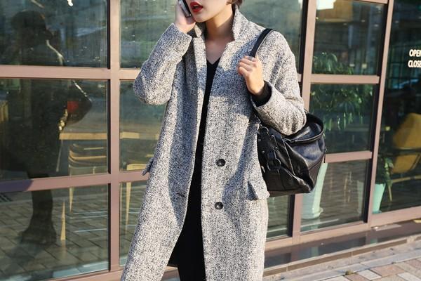 Áo khoác nữ dáng dài đẹp cho nàng xinh như sao hàn