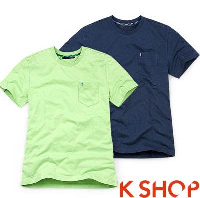 Áo phông nam màu sắc đẹp dành cho teen boy cá tính năng động