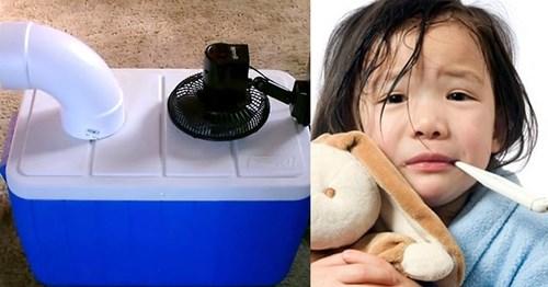 Cẩn thận khi sử dụng quạt lạnh tự chế