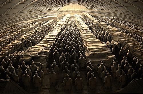 Có nhiều bí ẩn xoay quanh lăng mộ tần thủy hoàng