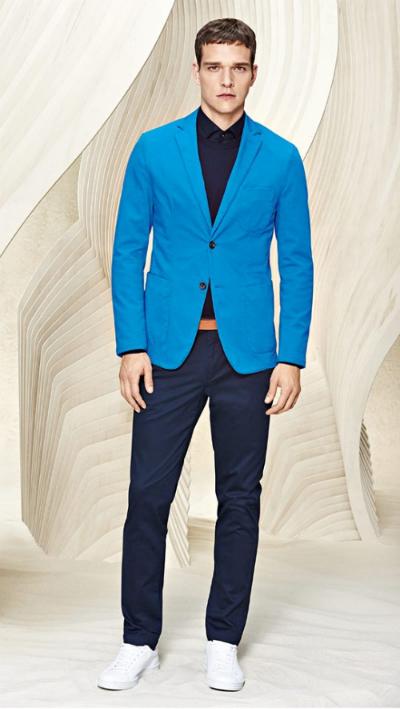 Hugo boss pre-spring mang đến phong cách trong mùa lễ hội