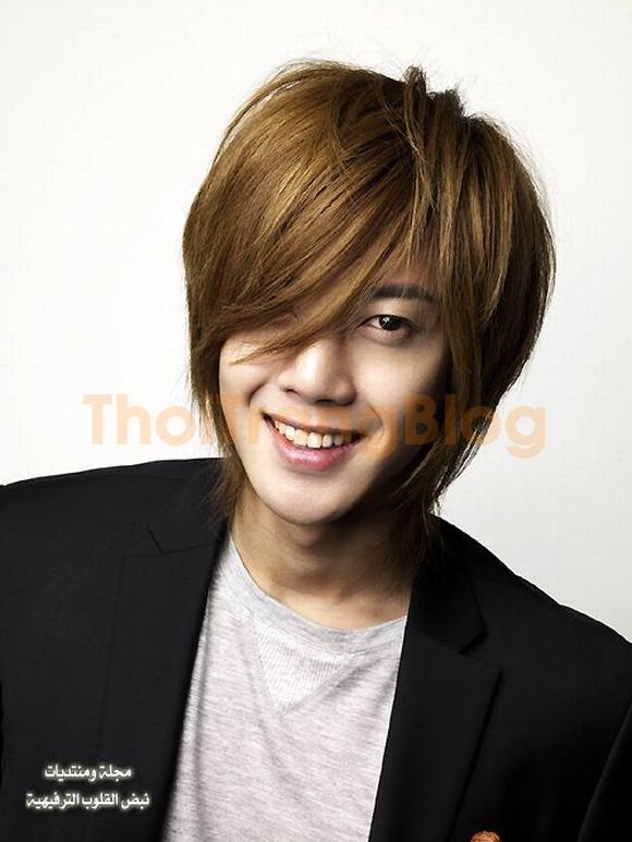 Kiểu tóc nam mái lệch xéo của sao kpop hàn quốc