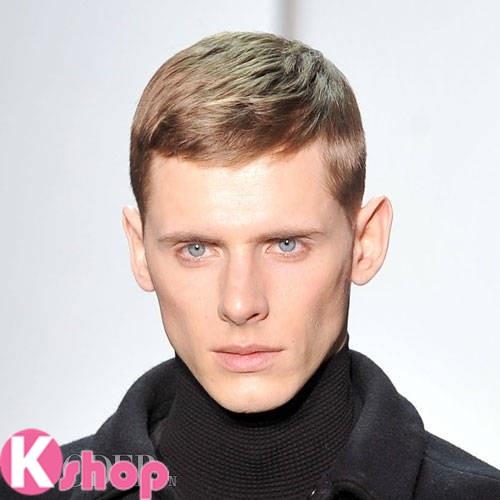 Kiểu tóc ngắn đẹp gọn gàng cá tính cho nam giới