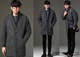 Mẹo mix áo khoác nam dáng dài phong cách hàn