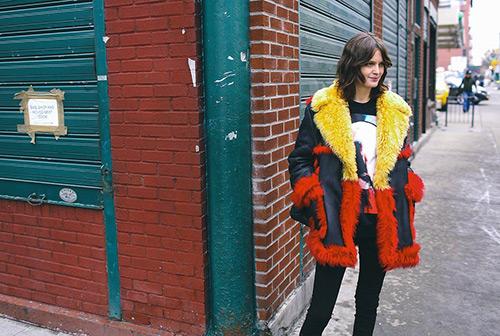 Những mẫu áo lông trẩy hội thời trang new york