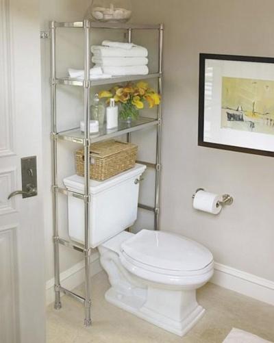 Những ý tưởng thông minh cho phòng tắm siêu nhỏ cực đẹp