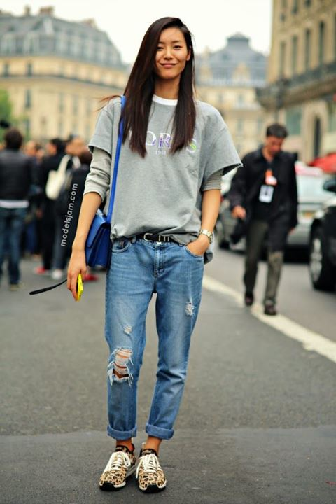 Thay đổi phong cách cho chiếc quần jeans cũ kỹ sành điệu