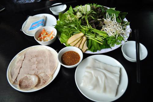 Vài món ăn trưa nhẹ bụng ở đà nẵng