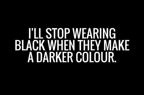 Chỉ nàng mê đồ đen mới hiểu