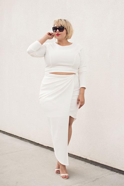 Cô gái 102kg vẫn khiến người khác phát ghen vì mặc đẹp