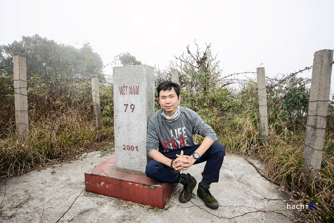 Ghế thăm cột mốc biên giới cao nhất việt nam