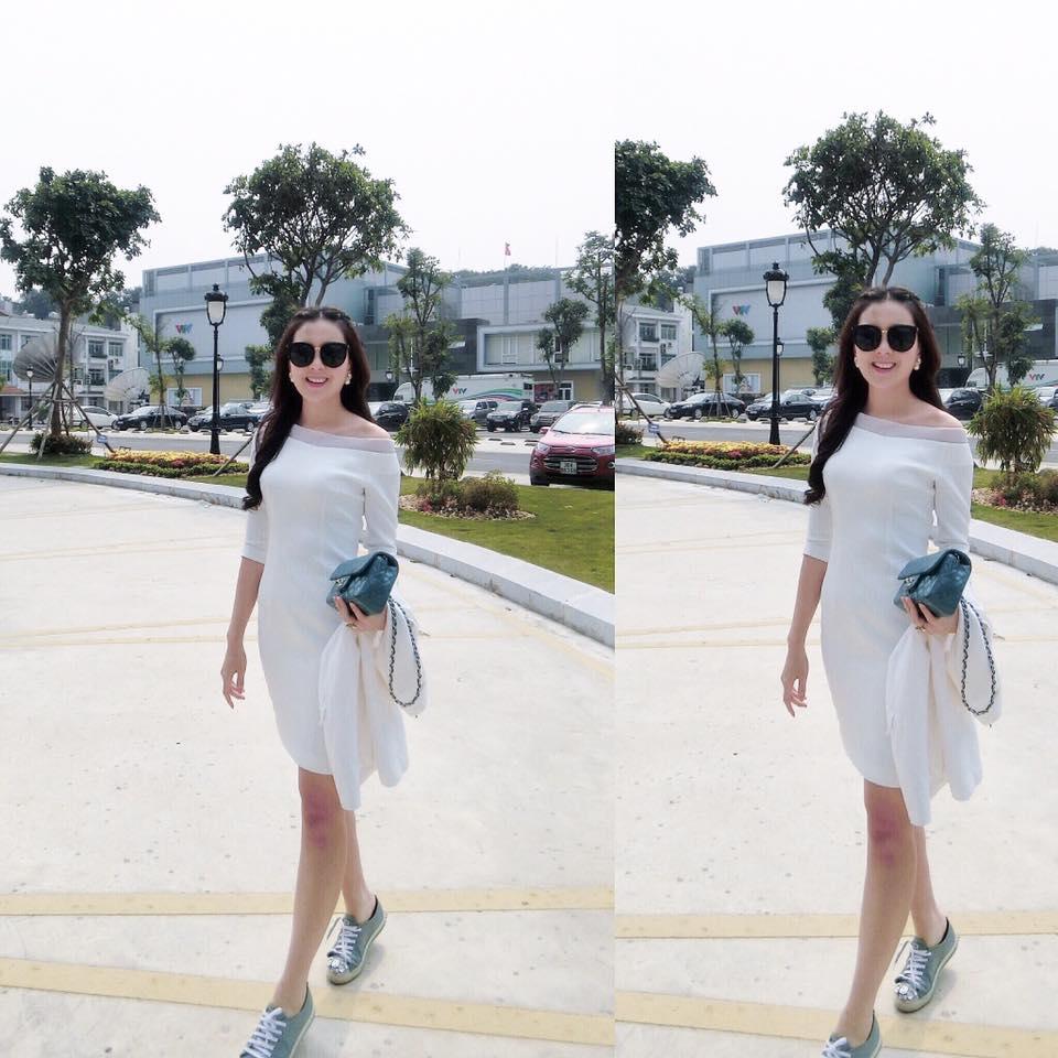 Mc xinh đẹp nhất vtv rạng rỡ với váy áo ngắm là yêu