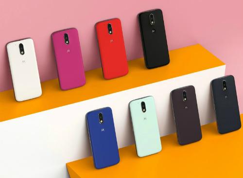 Motorola nhiều với nhiều màu sắc moto g4