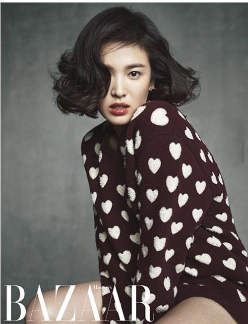 Song hye kyo khoe vẻ đẹp đầy tự tin trên tạp chí danh tiếng