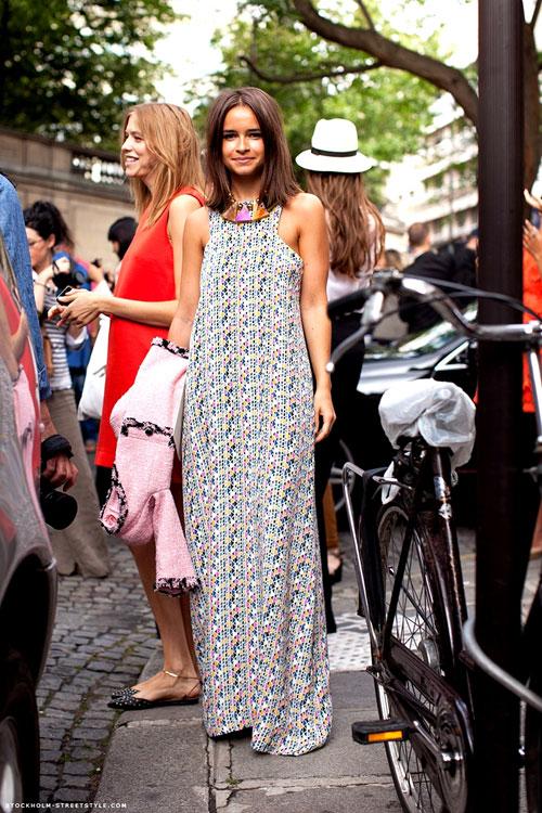 3 bí quyết mặc váy maxi đẹp mê ly