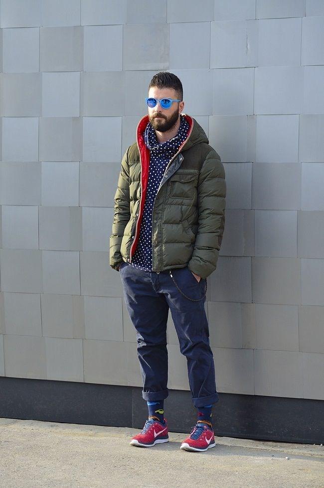 Ấm áp đông này với áo khoác phao nam có mũ