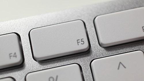 Bạn có đang lầm tưởng về nút f5