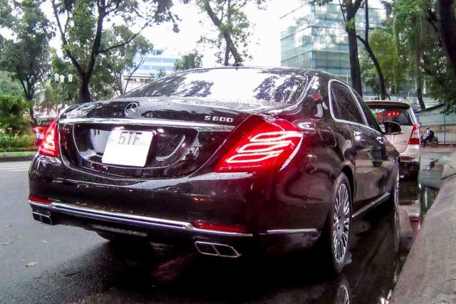 Mercedes s600 dòng maybach xe đẳng cấp xuất sài gòn
