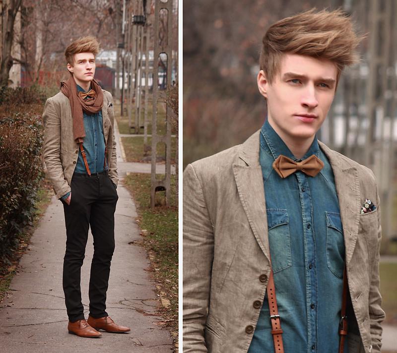 Sơ mi denim phù hợp mọi phong cách cho bạn trai