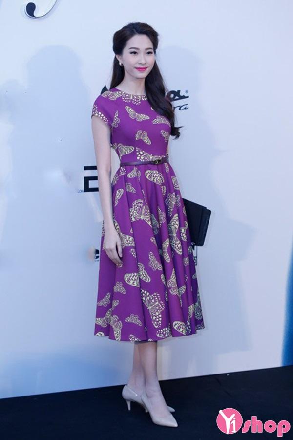 Váy đầm màu pastel sang trọng xinh xắn như hot girl