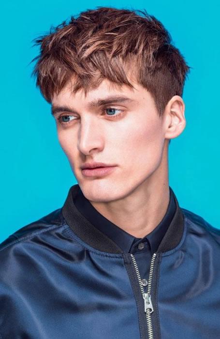 7 kiểu tóc nam đẹp cho khuôn mặt điển trai phong cách 2016