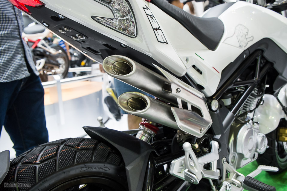 Chi tiết benelli tnt naked t-135