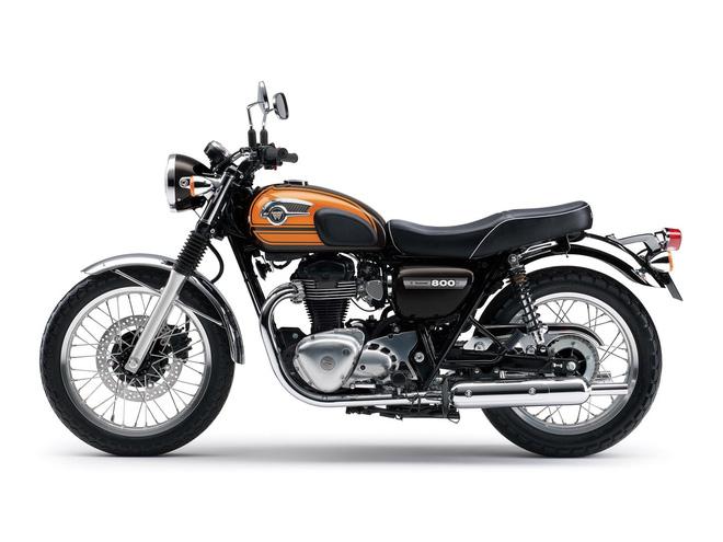 Kawasaki w800 chính thức bị khai tử ở thị trường châu âu
