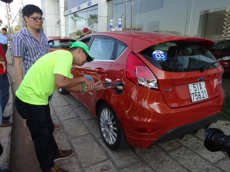 Khả năng tiết kiệm xăng trên ford fiesta ecoboost