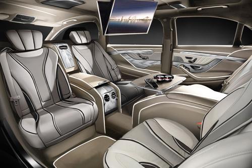Mercedes s-class độ cực khủng thế giới xa hoa