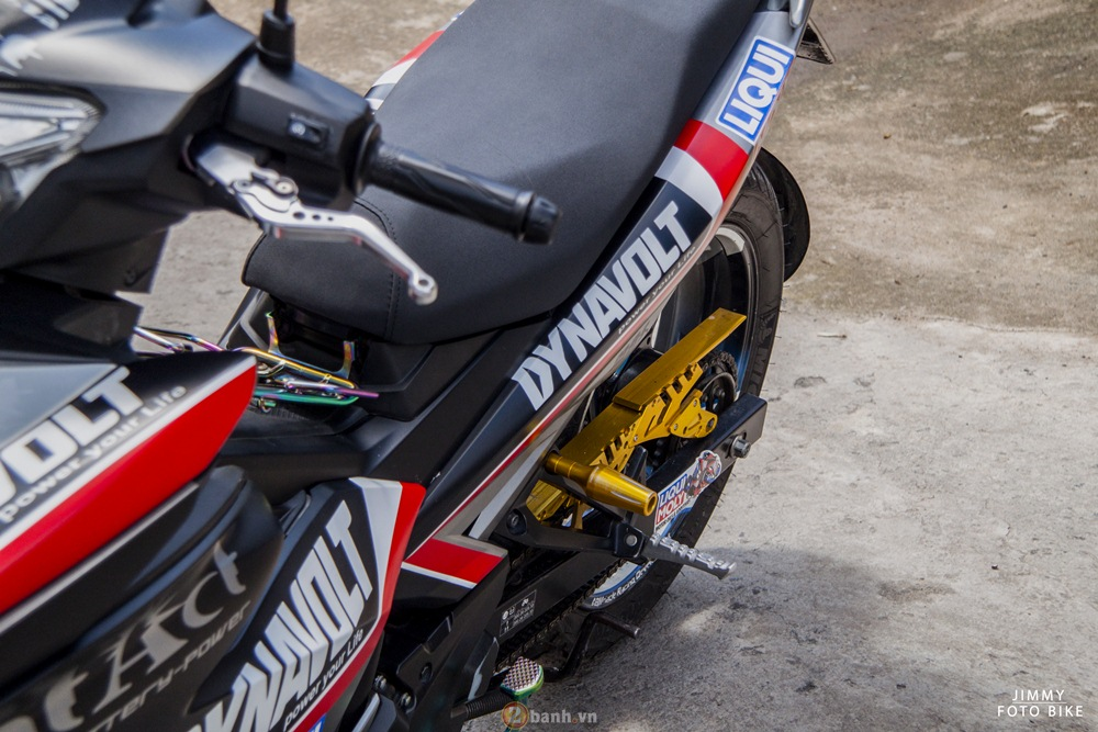 Yamaha exciter độ chất phố của đội exciter dragon