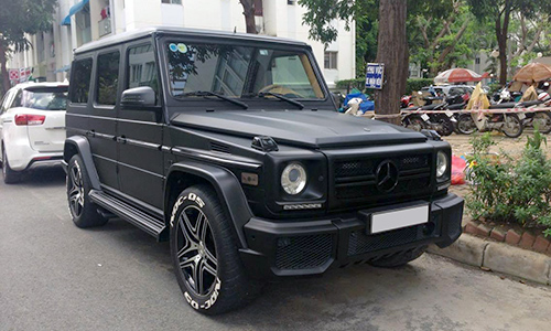 Mercedes g55 amg bản đặc biệt của đại gia việt