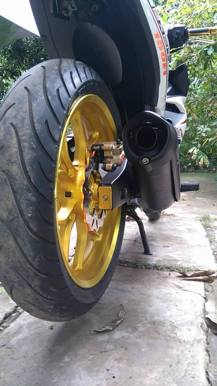 Yamaha exciter 150 độ nhẹ những vẫn đẹp